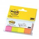 Indeksai-žymekliai Post-it® 670/4 popieriniai 4spalvosx50vnt. 20x38mm