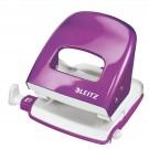 Skylmuša LEITZ WOW 5008 violetinė, pramuša iki 30lapų(P)