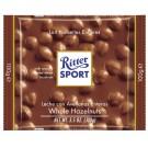 Pieniškas šokoladas Ritter Sport, su neskaldytais lazdynų riešutais, 100g