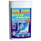 *Drėgnos servetėlės ekranams DATA FLASH TFT/LCD. 100 vnt.