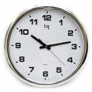 Apvalus sieninis laikrodis TIQ 851A, 40cm diametras, baltos spalvos (P)