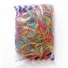 Kanceliarinės gumytės Attomex, 60mm, 500g, įvairių spalvų