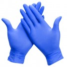 Disposable nitrile gloves ABENA ULTRA SENSITIVE, M size, blue sp., without powder, 100 pcs.